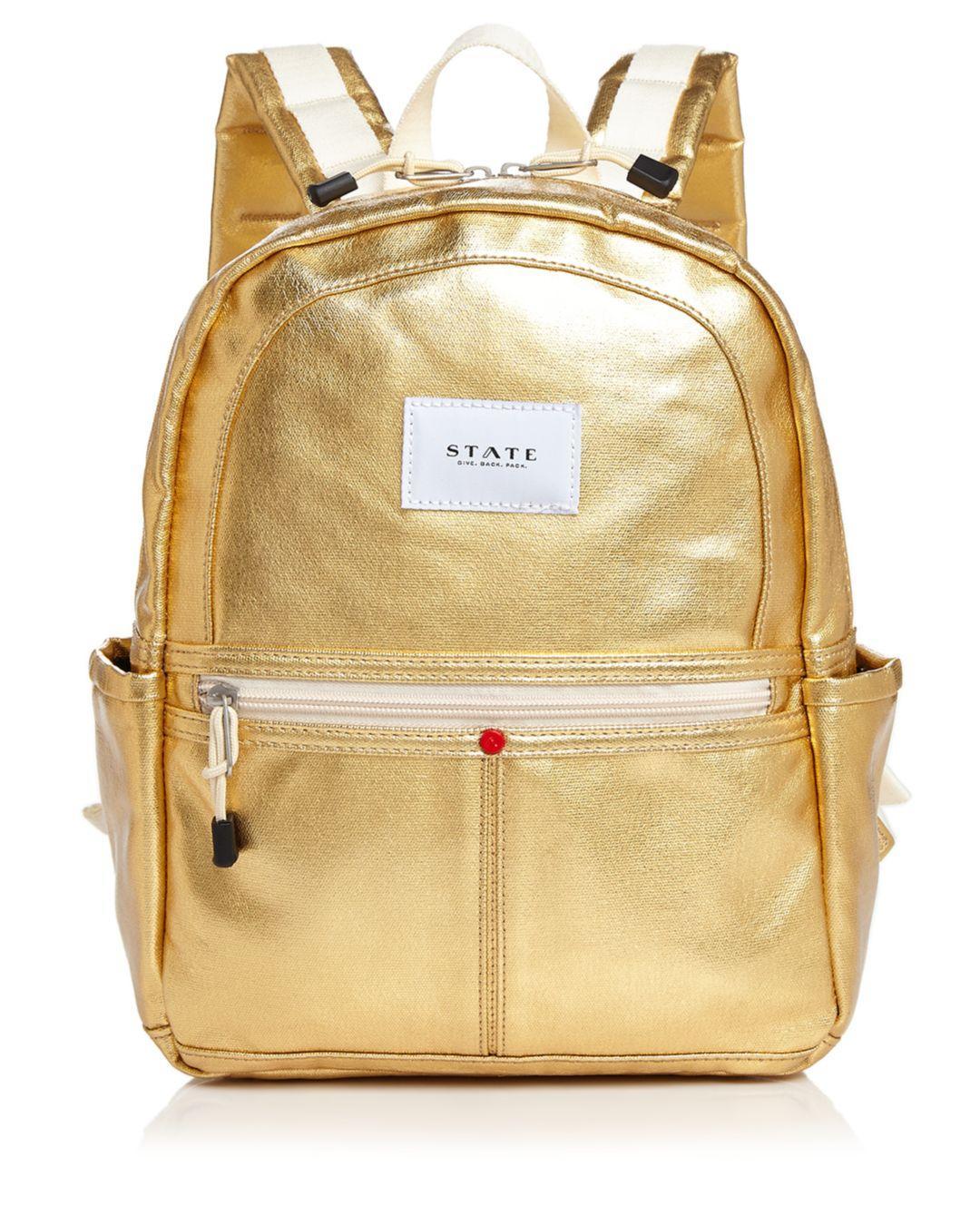 e7ce266a449 State - Downtown Kane Mini Metallic Backpack - Lyst. View fullscreen