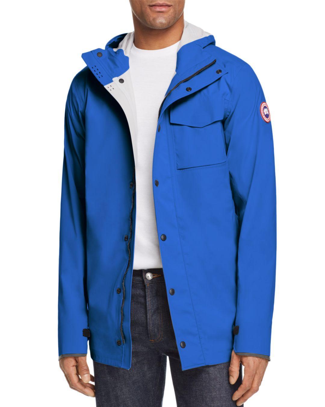 fe9497211e Lyst - Canada Goose Nanaimo Lightweight Rain Jacket in Blue for Men