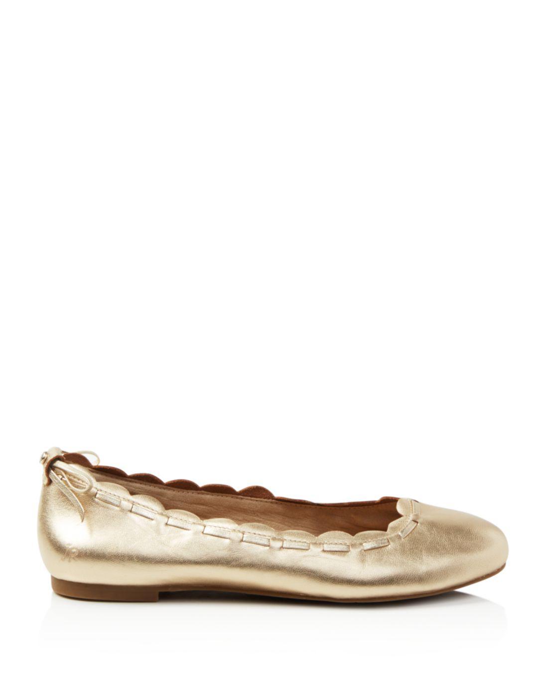 814800bdba55c Women's Lucie Leather Flats