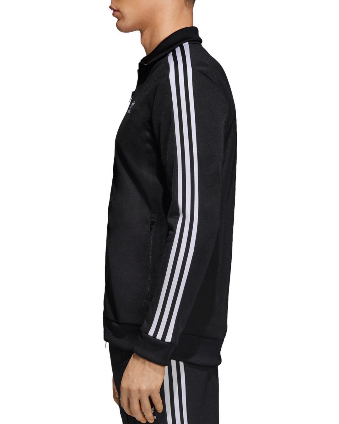 adidas Originals Beckenbauer Track Jacket in Black for Men - Lyst 3f2b64a8c