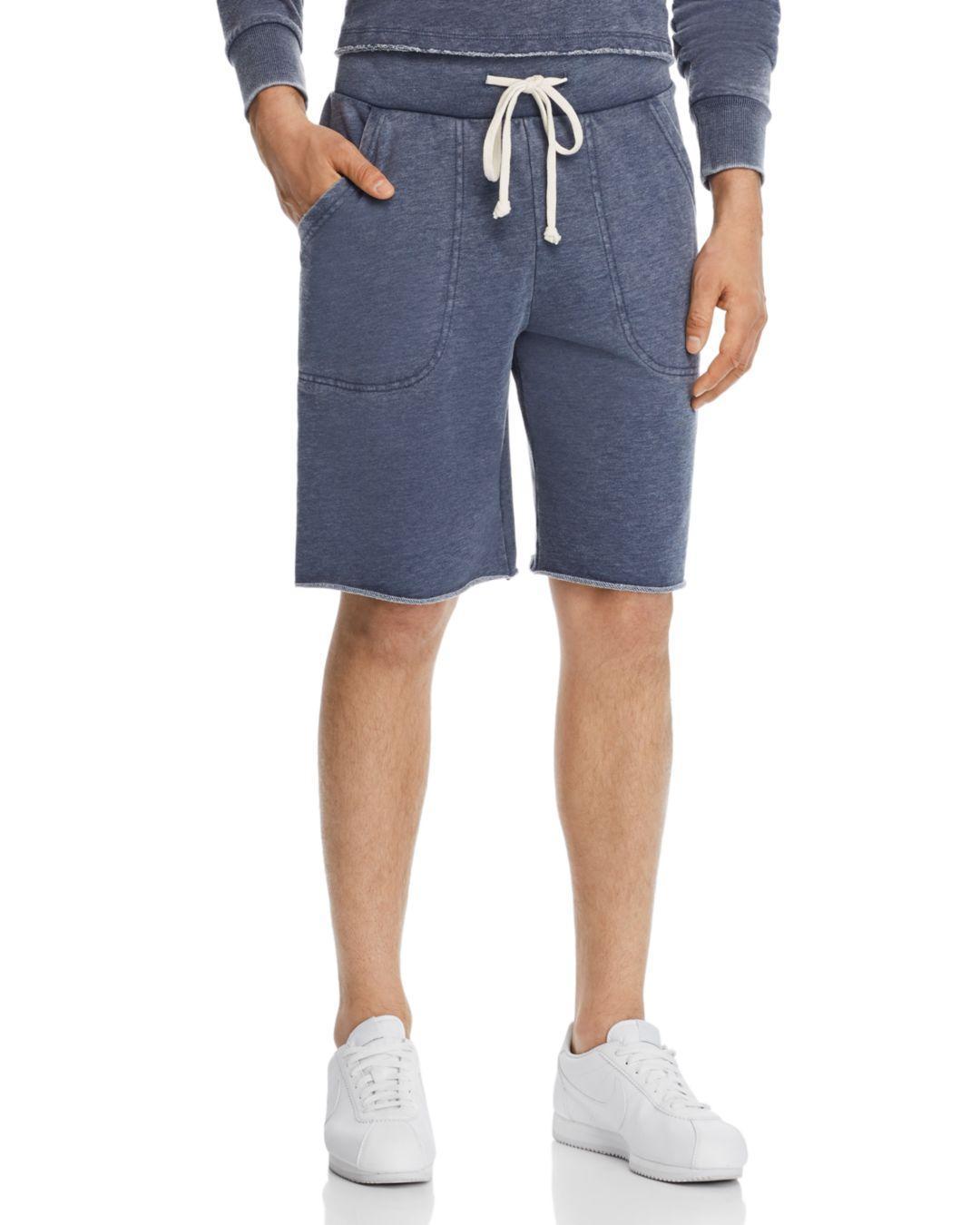 66b024bc2c Lyst - Alternative Apparel Victory Fleece Shorts in Blue for Men