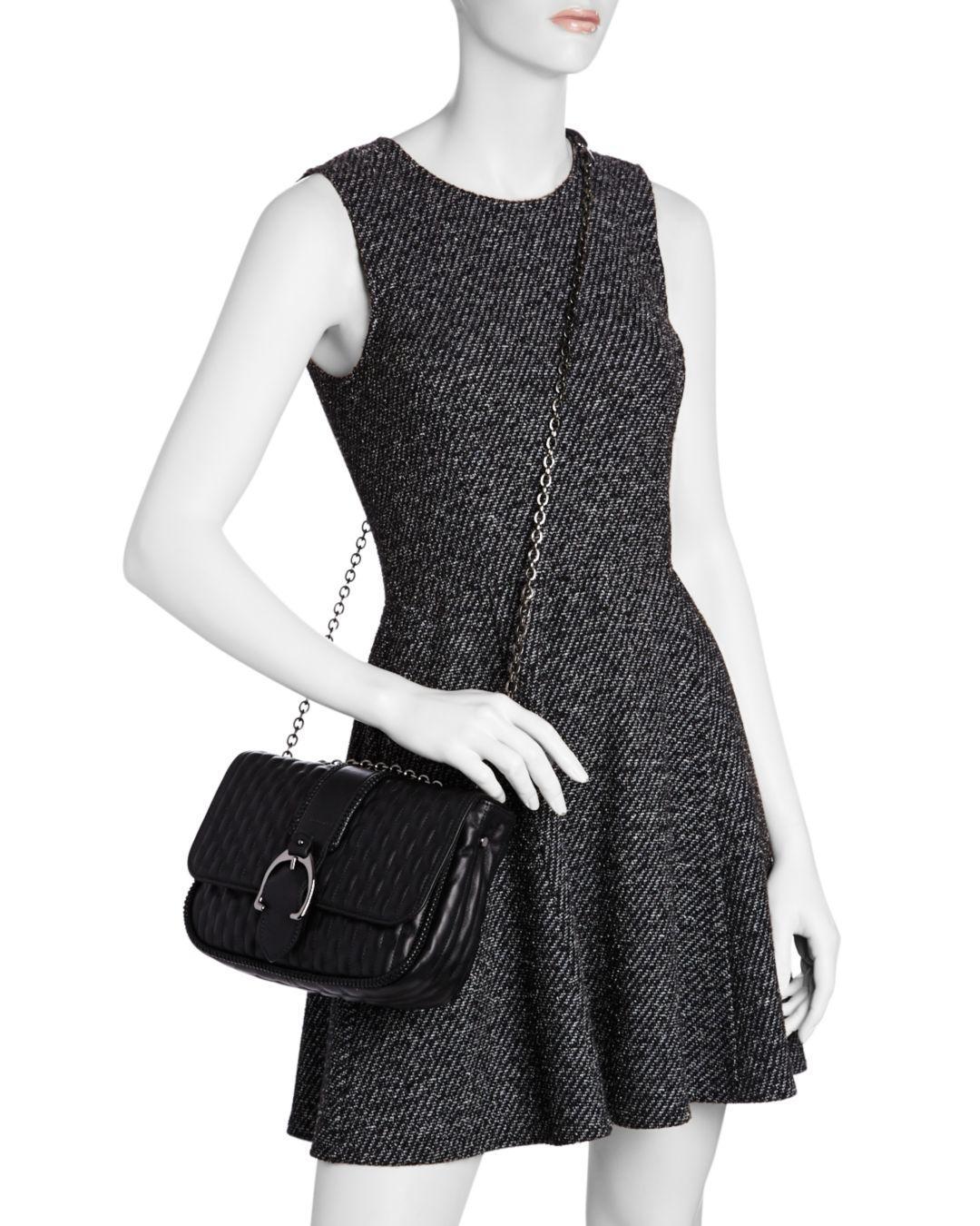 Amazone Matelassé Small Leather Shoulder Bag