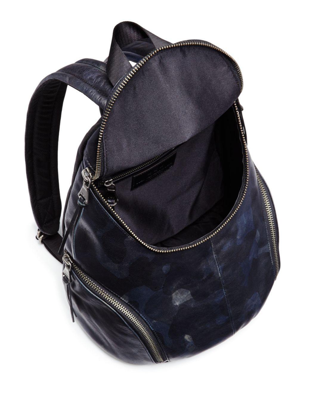 John Varvatos Brooklyn Backpack in Midnight (Blue) for Men