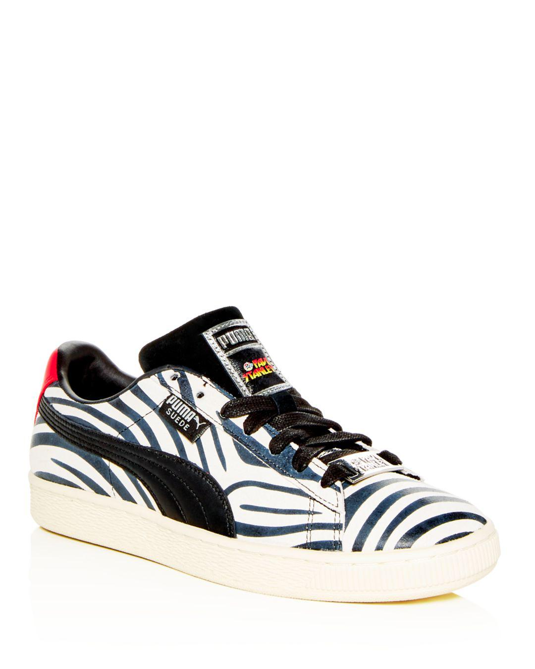 separation shoes 97482 03a91 PUMA Leather Suede X Paul Stanley ( White/ Black) Shoes for ...