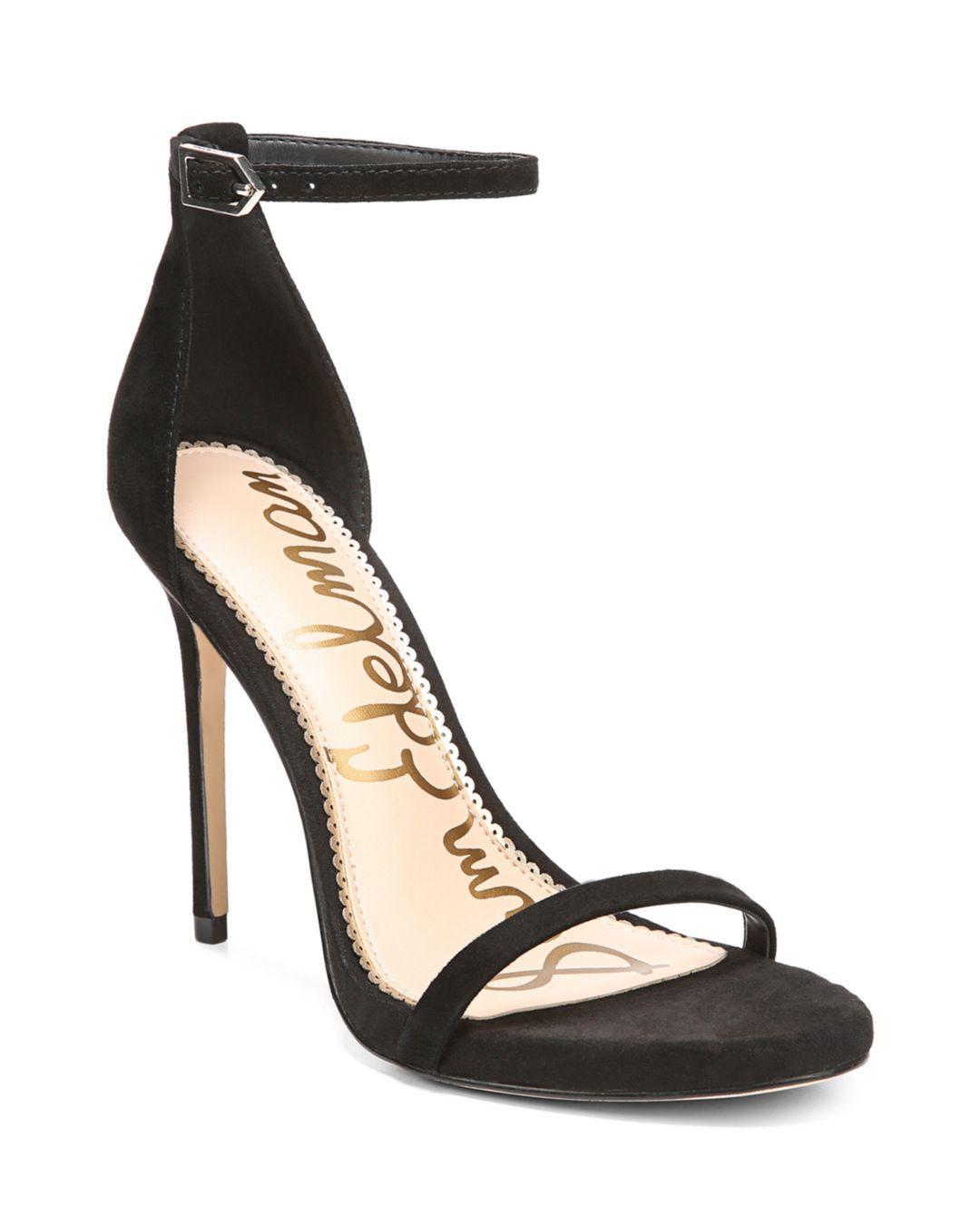 4c932f088c3c1 Lyst - Sam Edelman Women s Ariella High-heel Ankle Strap Sandals in ...