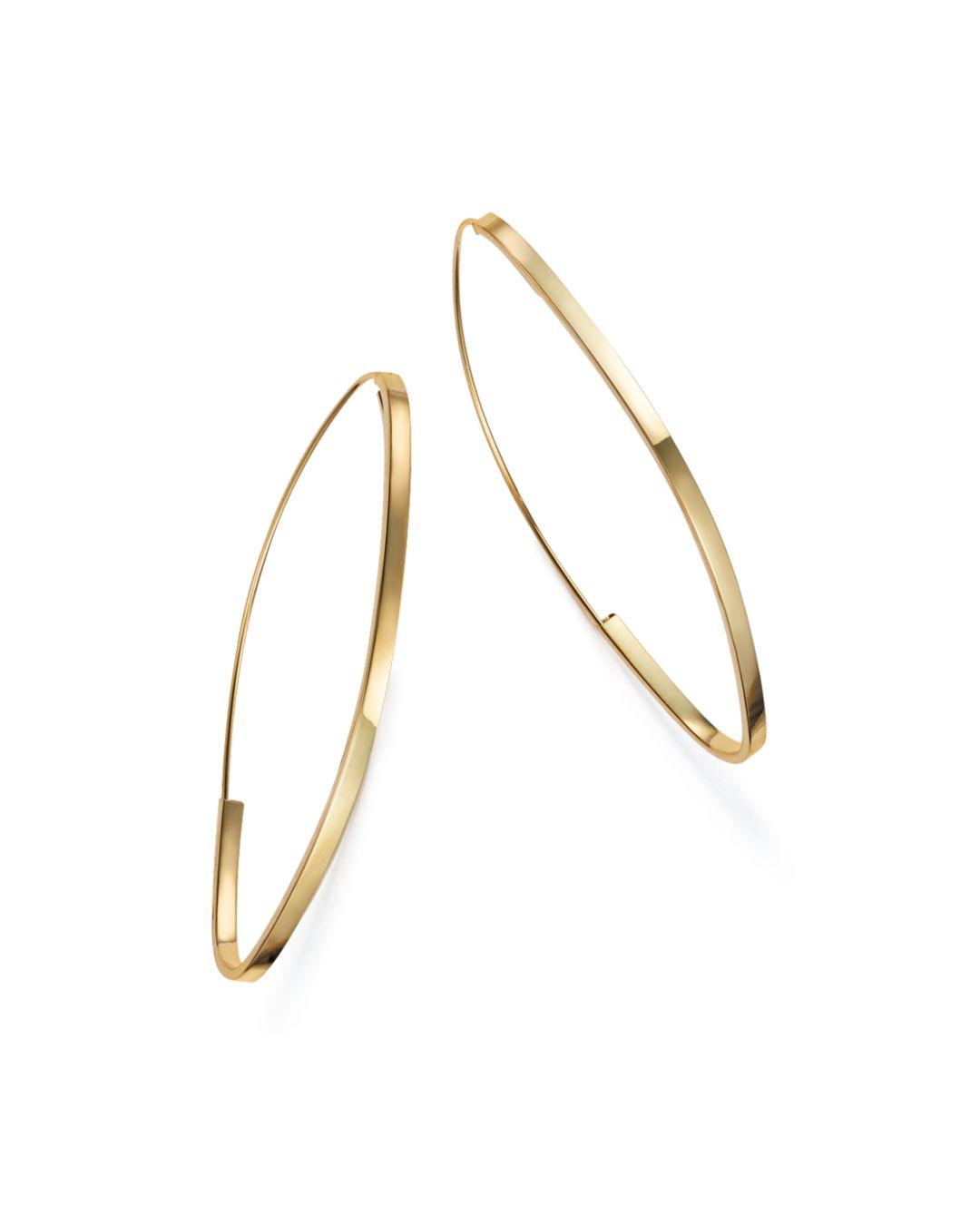 Bloomingdale S Women Metallic Endless Hoop Earrings