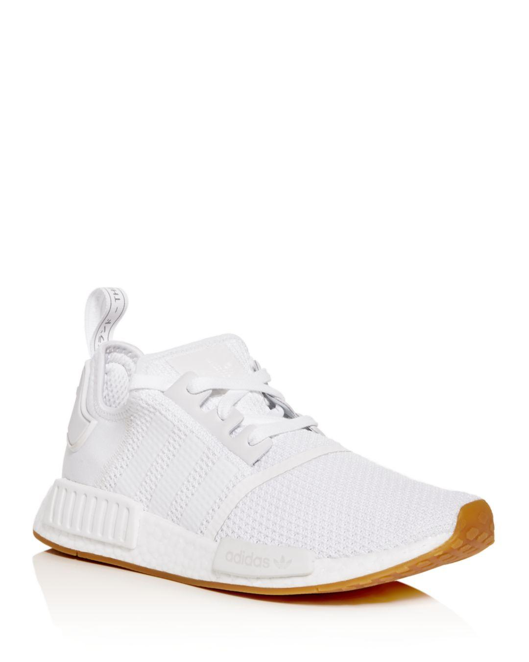 Nmd R1 Knit Low Top Sneakers