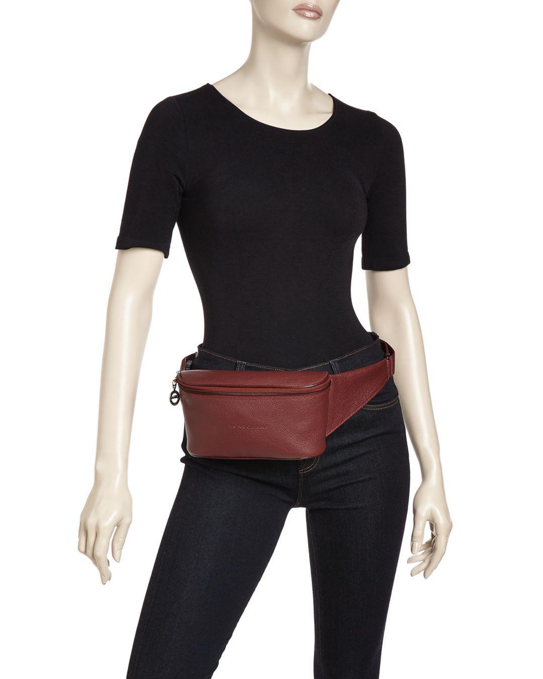 Le Foulonné Leather Belt Bag