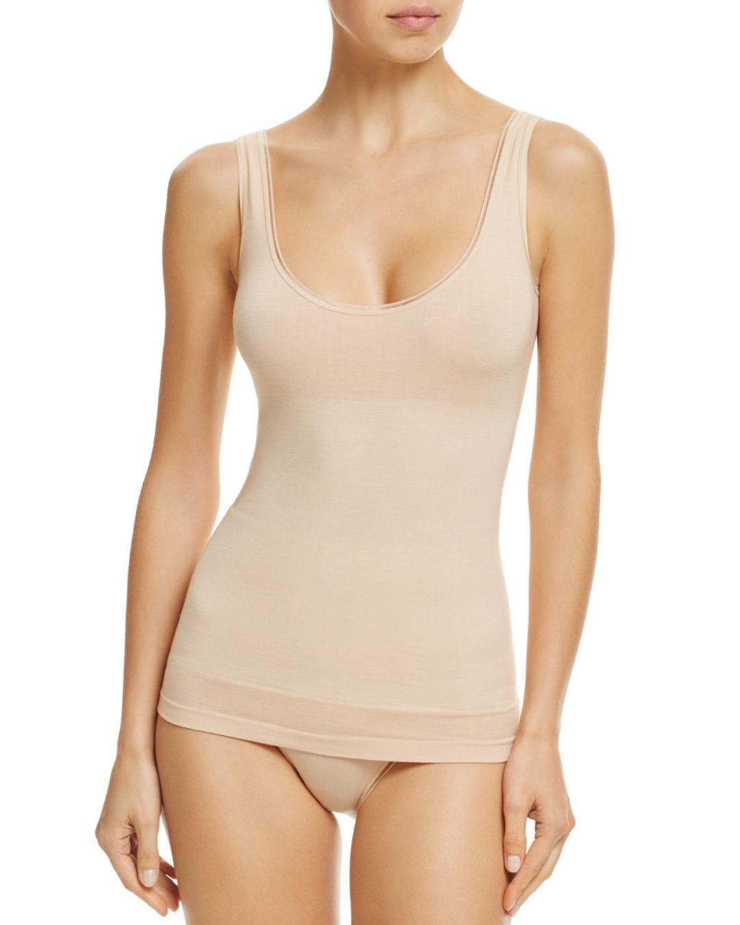 5a1d53d3b178c Lyst - Yummie Seamlessly Shaped 2-way Reversible Tank in Natural
