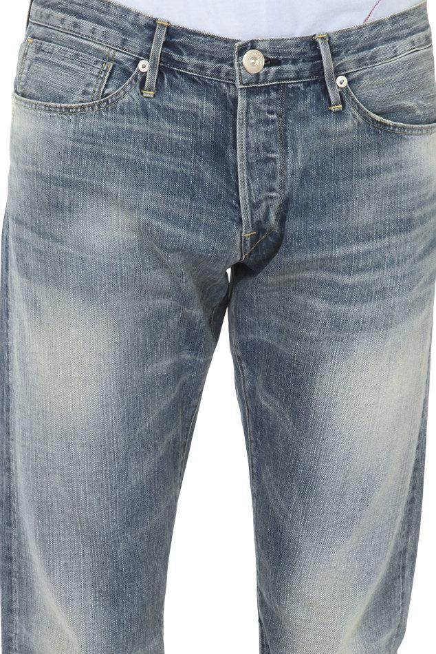 3x1 Denim M5 Selvedge Slim Jean in Blue for Men