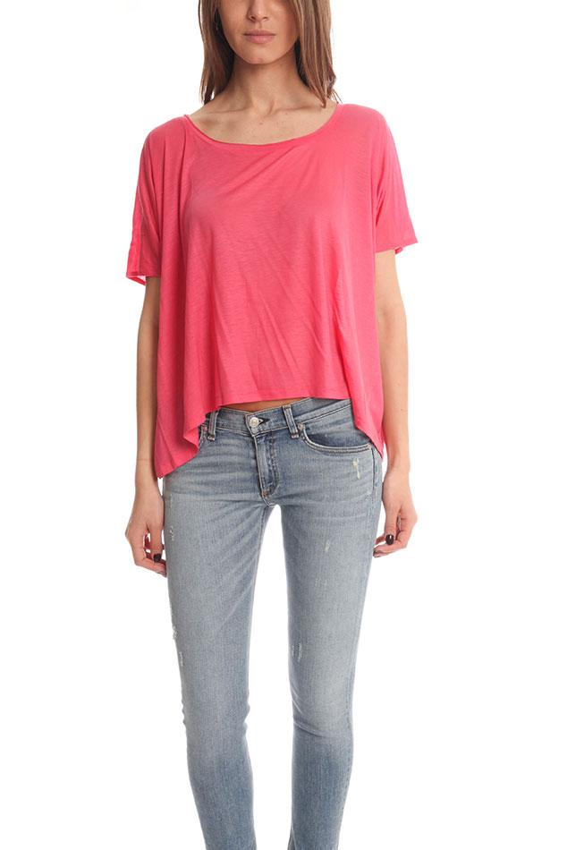 Lyst Acne Zorah T Shirt In Red