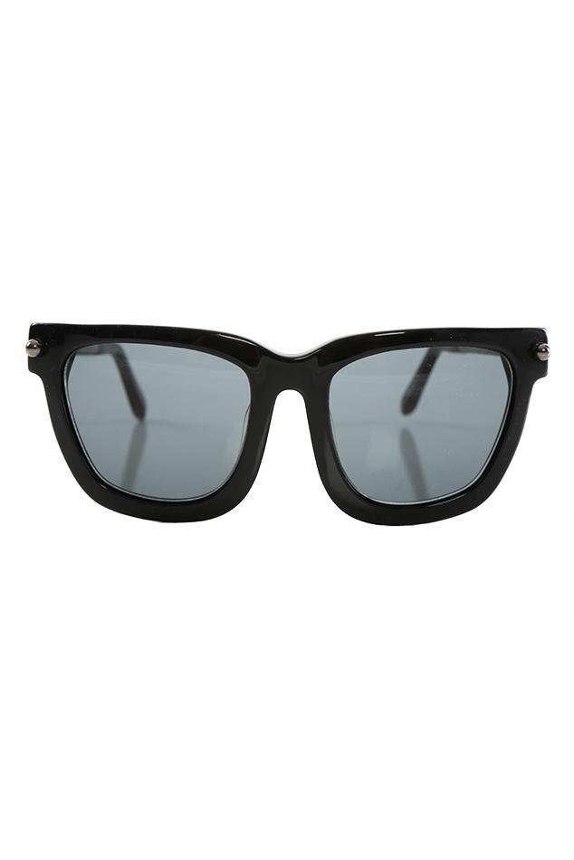 f13bc29ba04 Lyst - Linda Farrow Alexander Wang Aw 25 1 Sunglasses in Black