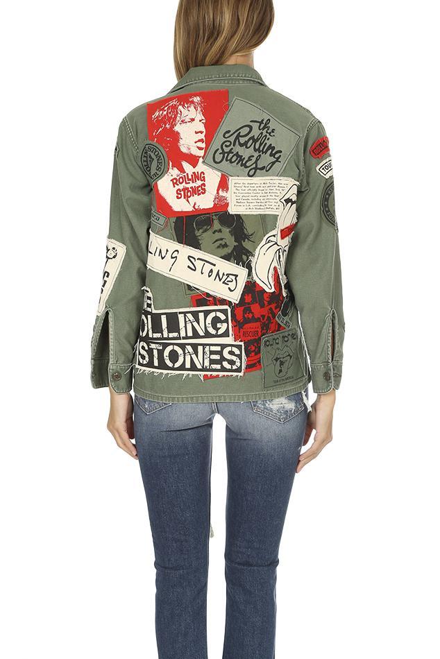 Women's Madeworn Rolling Stones Sticky Fingers Jacket