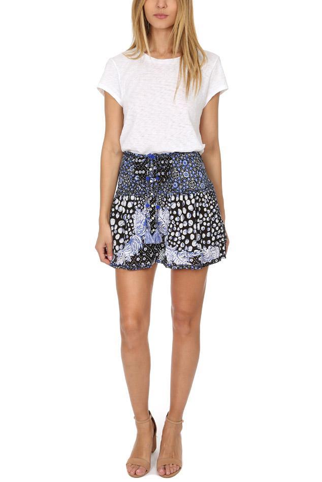 Poupette Synthetic Kila Mini Skirt in Black