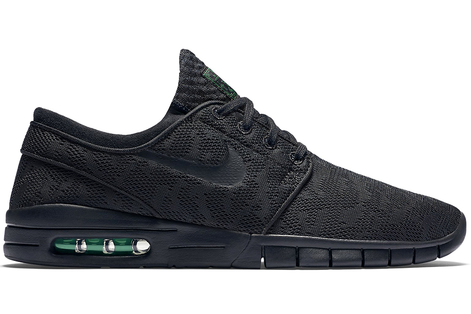 Calor damnificados ancla  Nike Synthetic Sb Stefan Janoski Max 'strike And Destroy' in Black (Green)  for Men - Lyst