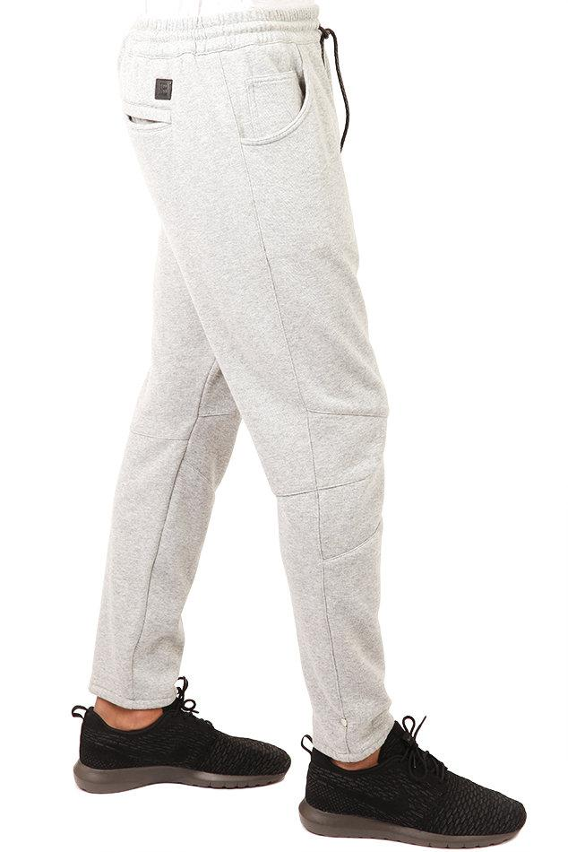 Balmain Cotton Drop Crotch Sweat Pant in Grey (Grey) for Men