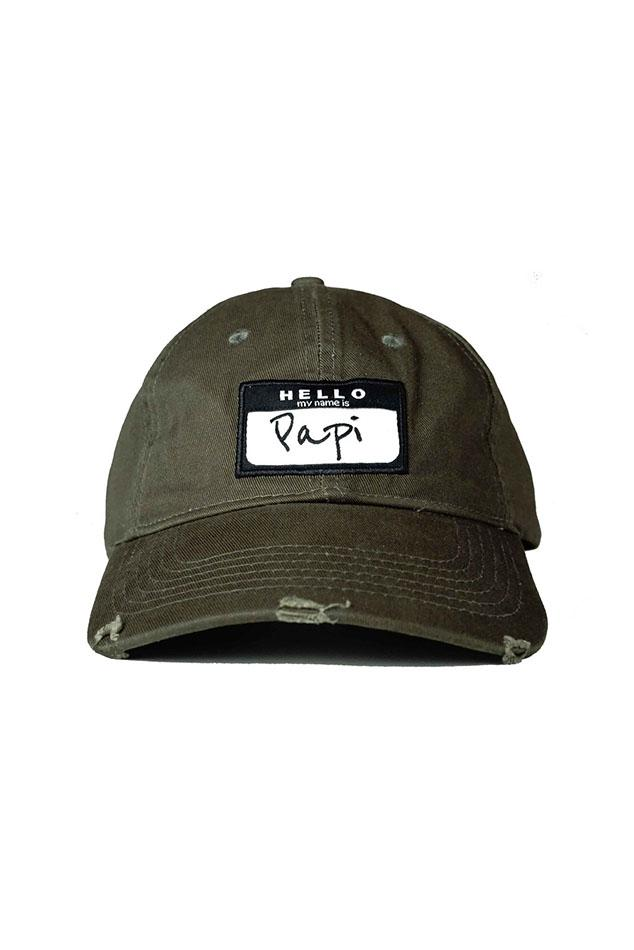 8c199680987 Lyst - Head Crack Nyc Papi Dad Hat in Green for Men