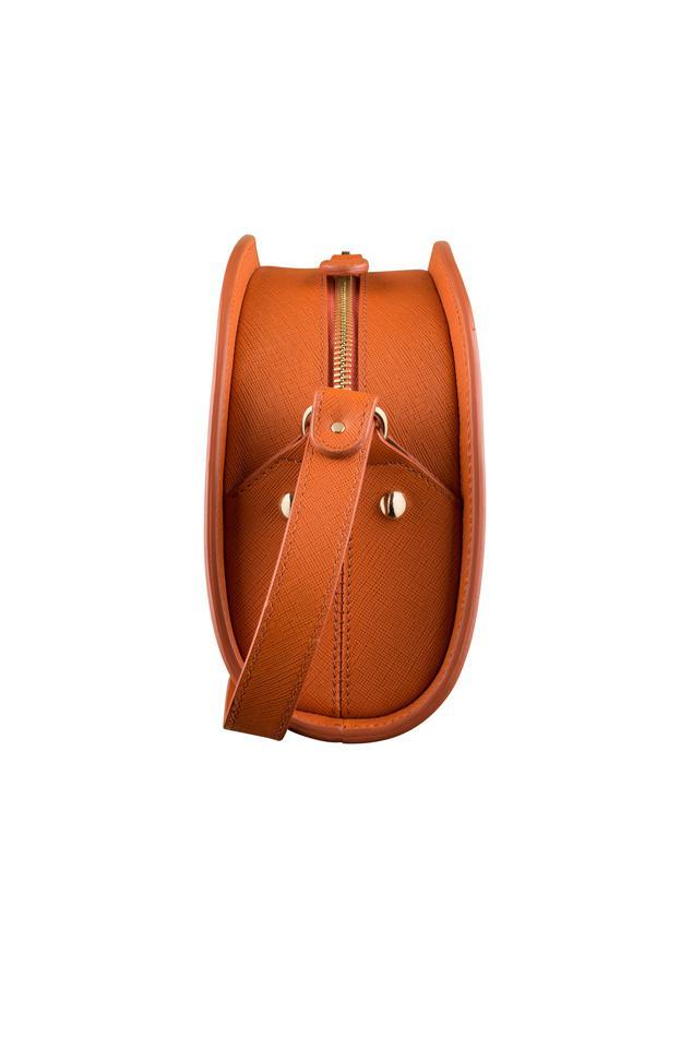 a p c half moon bag in orange lyst. Black Bedroom Furniture Sets. Home Design Ideas