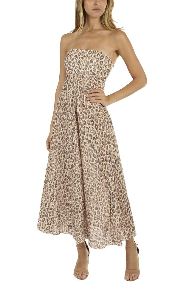 Melody Strapless Long Dress