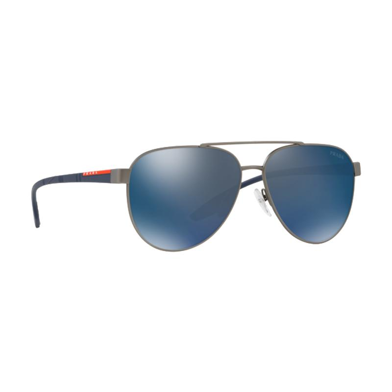 72a3112be0 Prada Sport Lifestyle Sunglasses Ps54ts Dg1387 58mm in Blue for Men ...