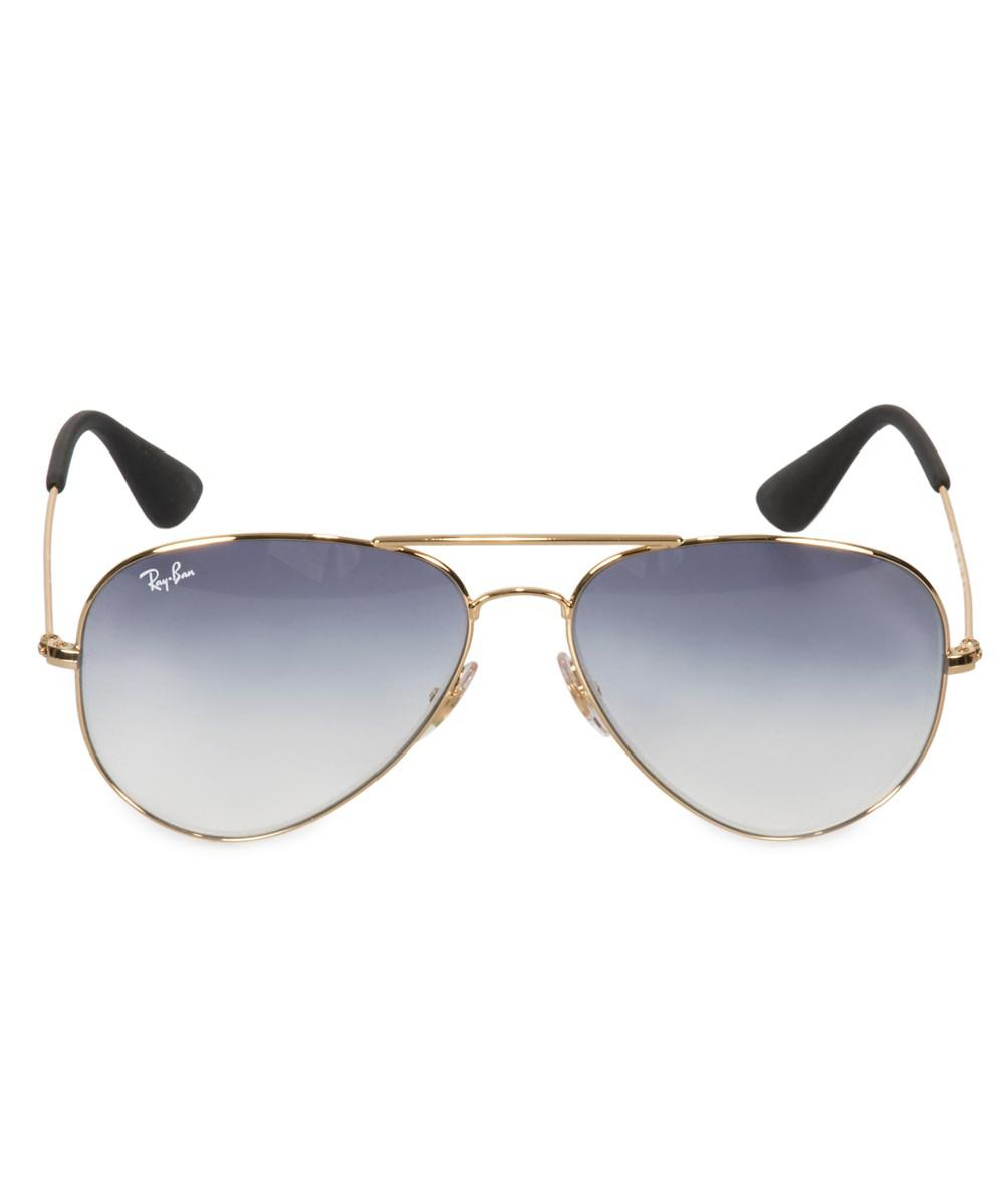 3d9c2d4e6a Ray-Ban Aviator Sunglasses Rb3558 001 19 58 in Metallic for Men - Lyst