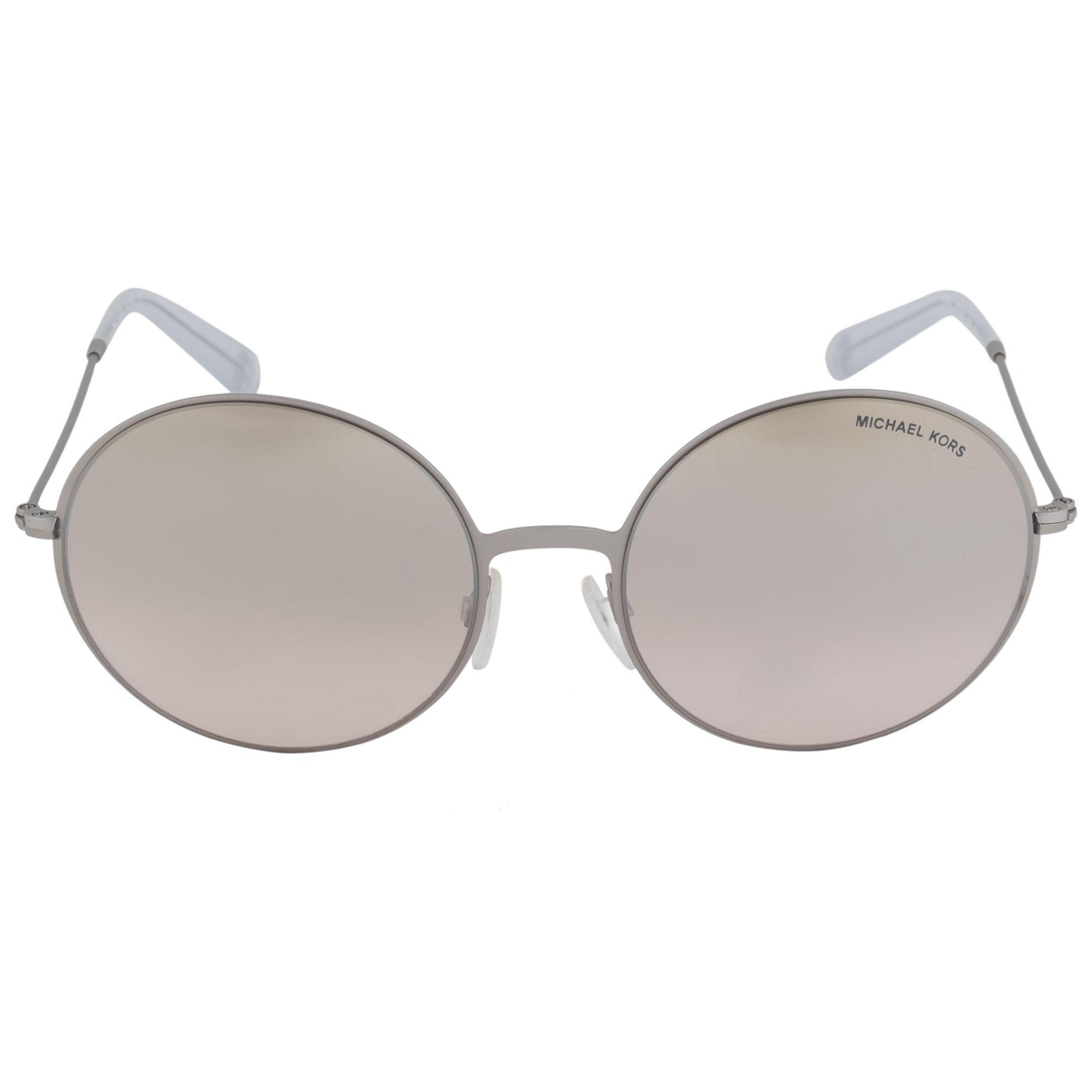 773e615ad95e Michael Kors - Multicolor Kendall Ll Round Sunglasses Mk5017 11398z 55 |  Brushed Silver Frame |. View fullscreen