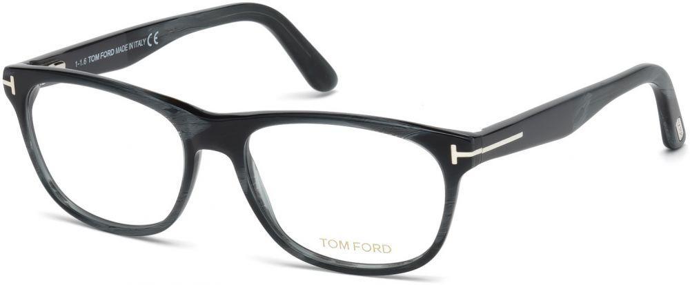 aa88550e10be Lyst - Tom Ford Ft5431-f Round Men Eyeglasses Coloured Horn in Blue