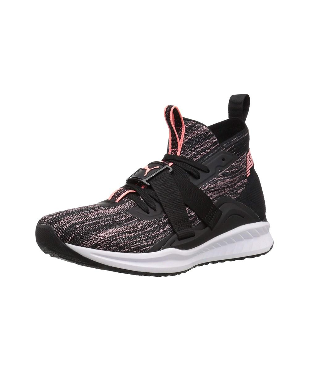 bb2c48c4c097 Lyst - Puma Womens Ignite Hight Top Lace Up Fashion Sneakers in Black