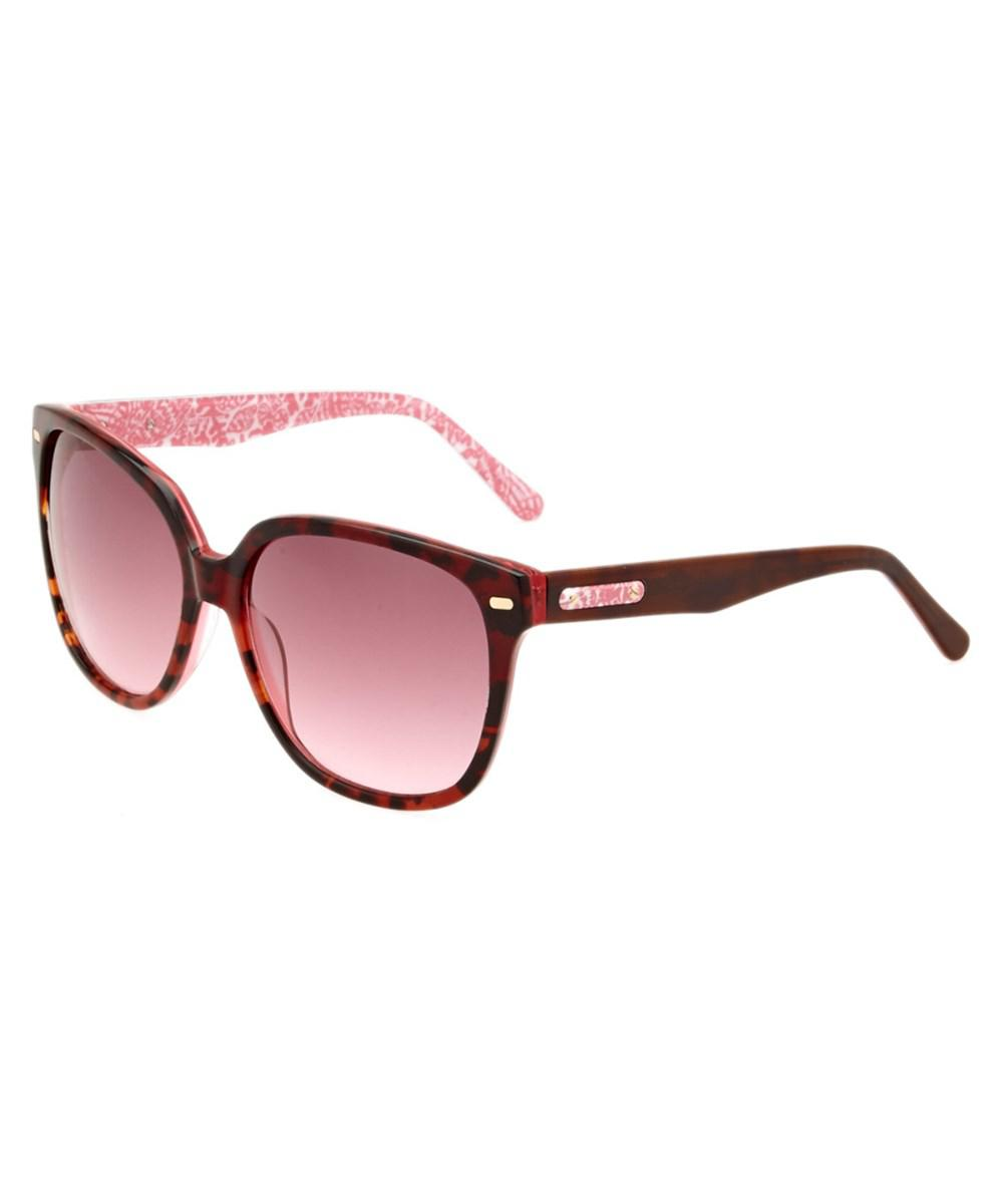 8fe722a832 Lyst - Lilly Pulitzer Women s Courtney Sunglasses in Red