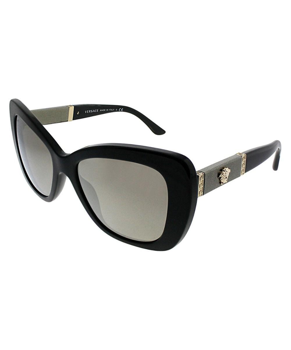15b84b0e57d Lyst - Versace Women s Ve4305q 54mm Sunglasses in Black