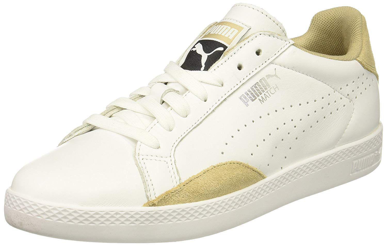 Lyst Puma Damenschuhe Match Lo Lo Lo Leder Niedrig Top Lace Up Running Sneaker dfb9e4