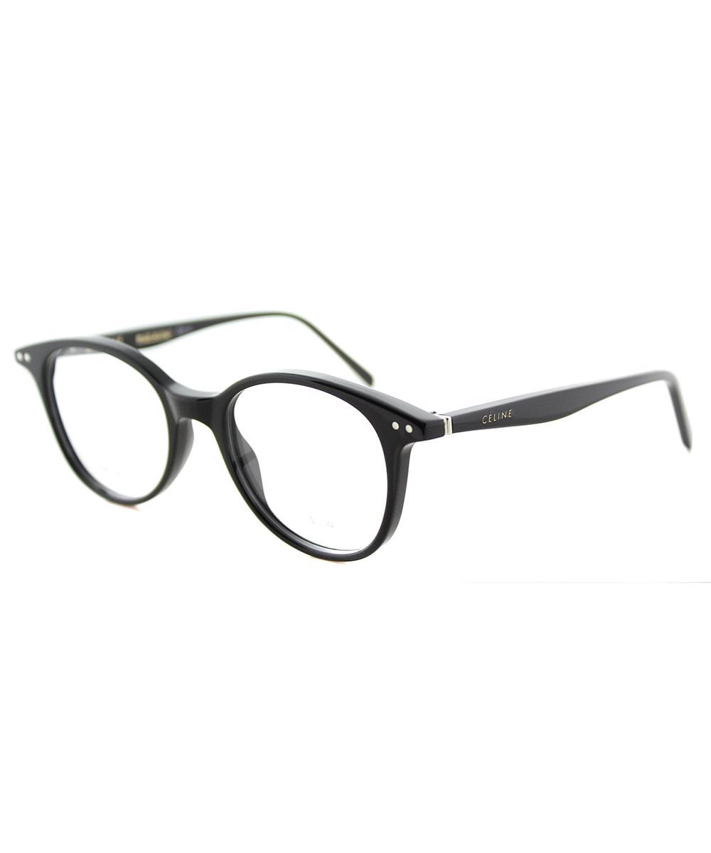 e75fcbc9578e Lyst - Céline Twig Square Plastic Eyeglasses in Black