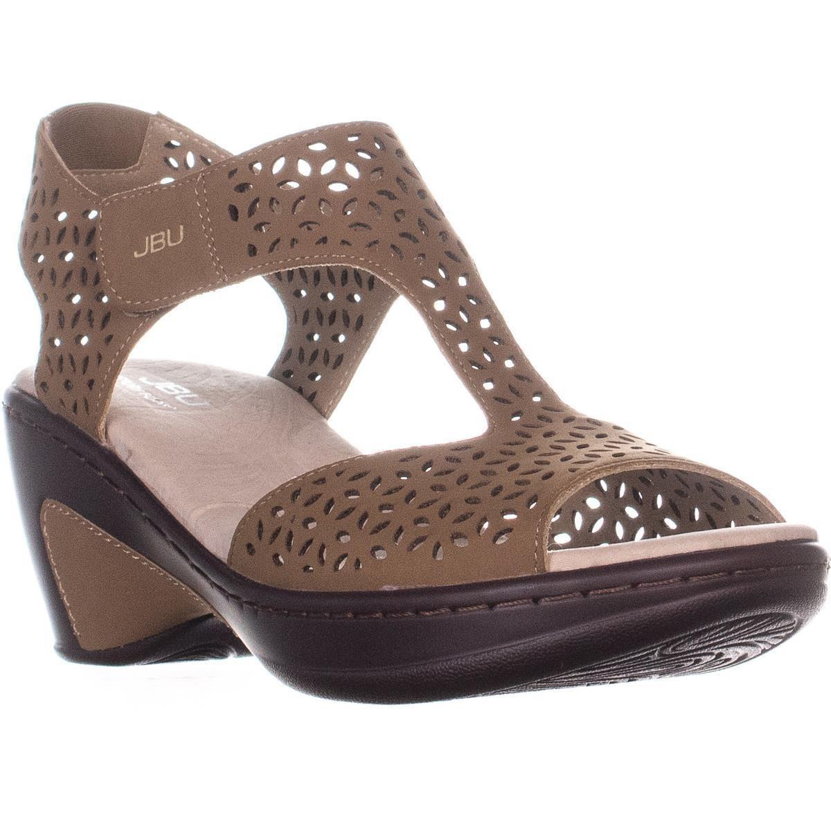 ac2f4b86d9 Jambu. Women's Jbu By Chloe Cutout T-strap Comfort Sandals ...