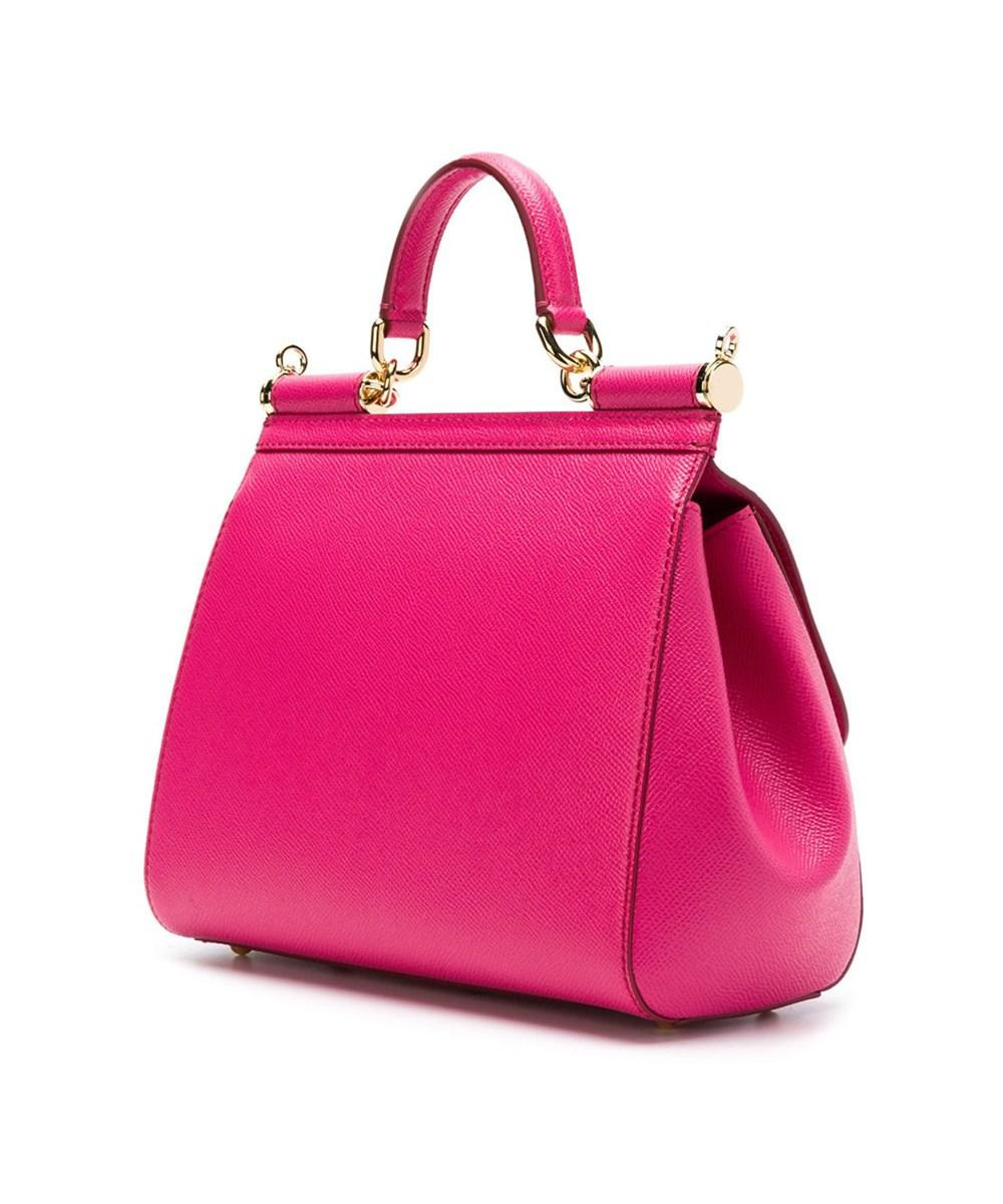 4da0d4df864 Lyst - Dolce   Gabbana Sicily Small Tote Bag in Pink - Save  14.41835062807209%