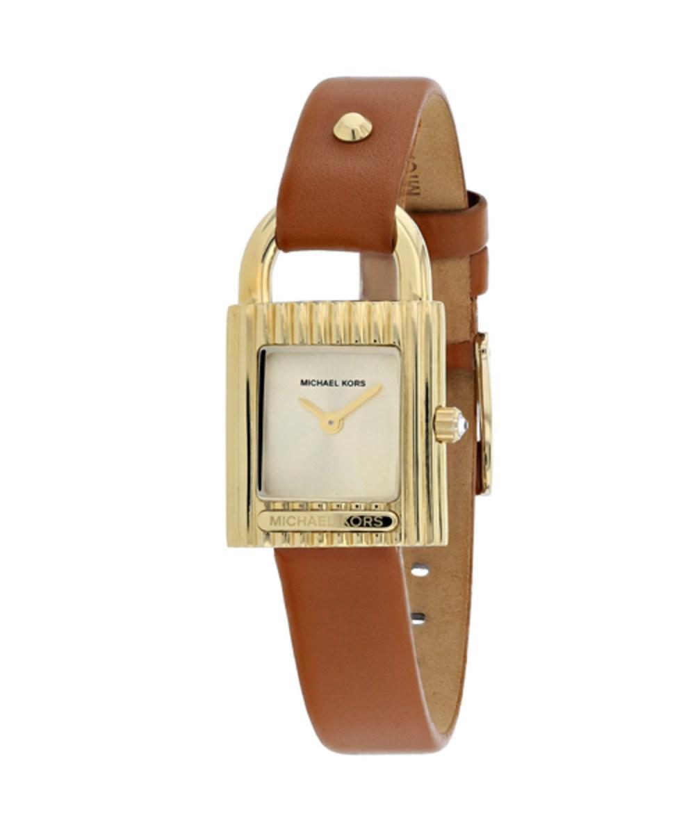 a0de532391fe Lyst - Michael Kors Women s Watch in Metallic