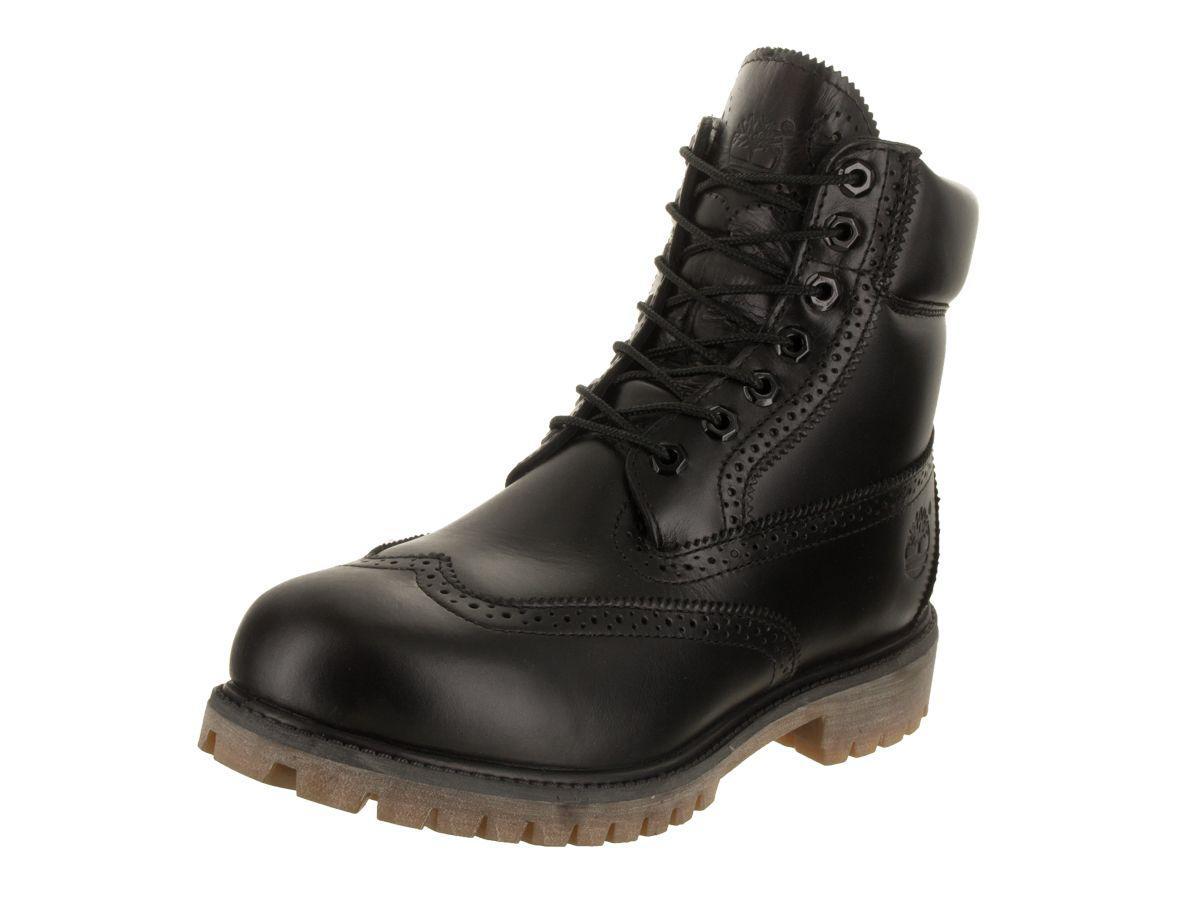 a01a0e78fb741 Lyst - Timberland Men's 6 Inch Prem Brogue Boot in Black for Men