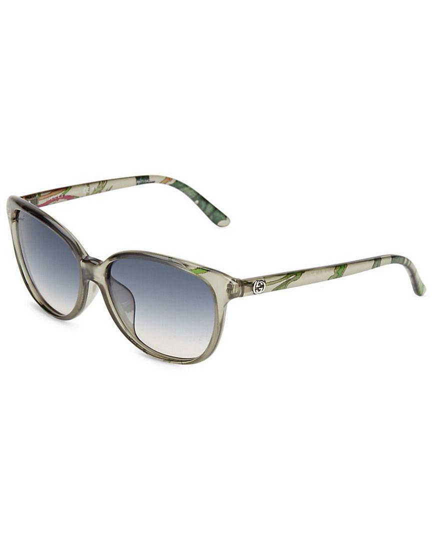34884cf1efa Gucci. Women s 57mm Gradient Cat s Eye Sunglasses