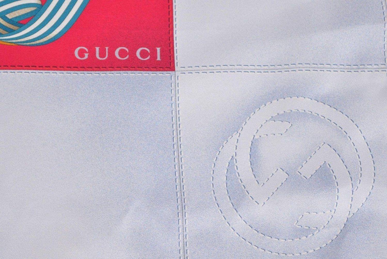 f74ce837bbf Gucci - Multicolor Women s Multi Color Silk Twill Scarf Horsebit  Interlocking G Print 352213 6669 -. View fullscreen