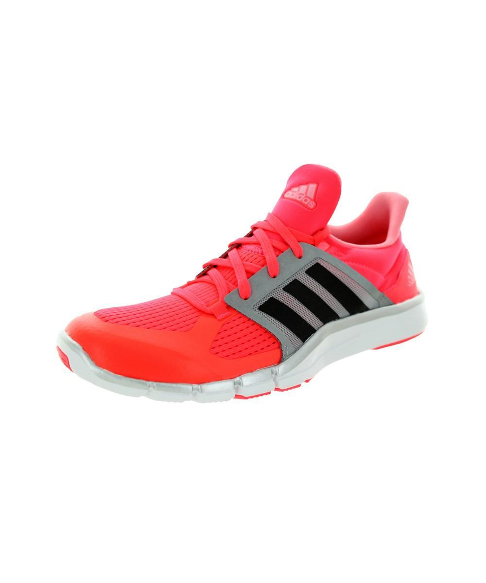 promo code a692c 39396 adidas. Red Women s Adipure 360.3 W Running Shoe