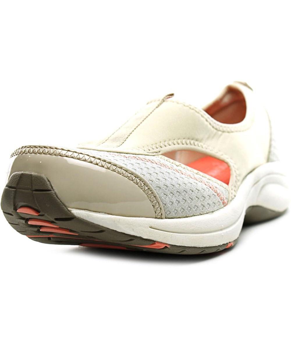 15ce8ead94 Lyst - Easy Spirit 7 Wamanda Round Toe Canvas Walking Shoe in Natural