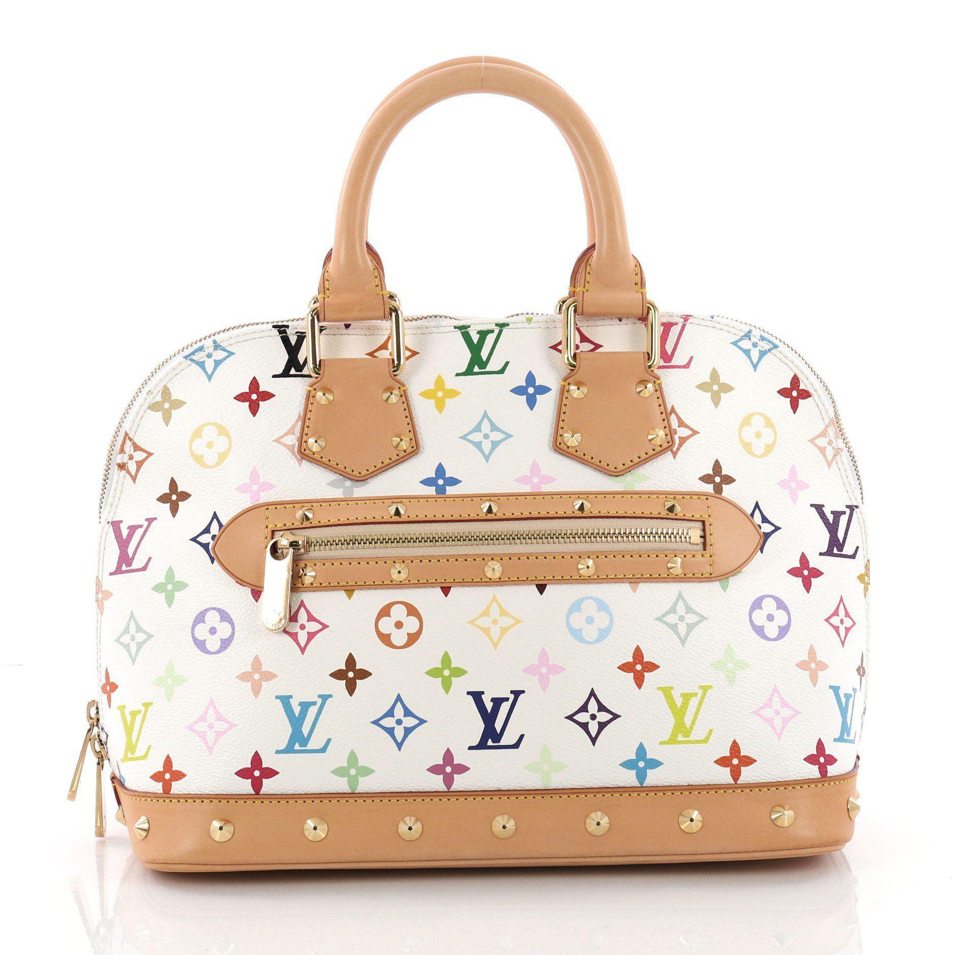 e988ae1f9b2e Louis Vuitton. Women s Pre Owned Alma Handbag Monogram Multicolor Pm