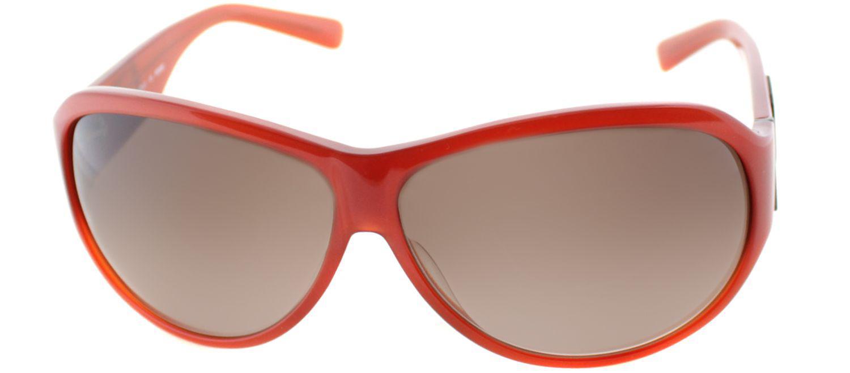 4e9f3237585b Lyst - Fendi Fs 472m 639 Red Aviator Sunglasses in Red