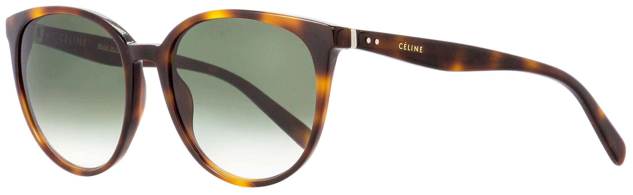 143228c7e6af Céline - Multicolor Oval Sunglasses Cl41068s 05lxm Havana 55mm 41068 -  Lyst. View fullscreen