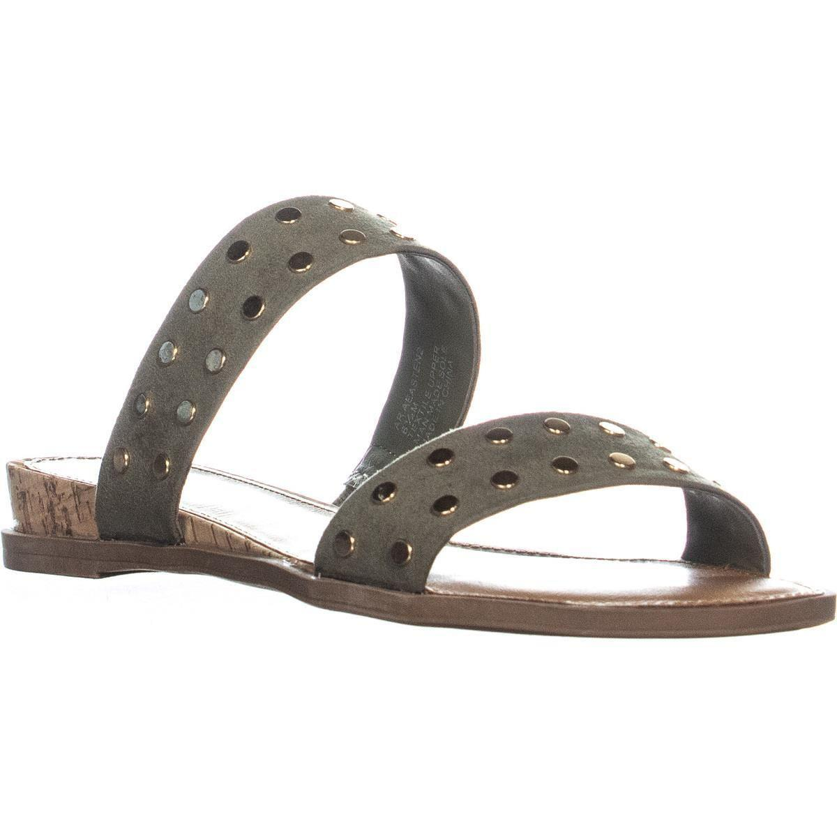 34a189956cd8 American Rag. Women s Ar35 Easten2 Studded Double Strap Flat Sandals ...