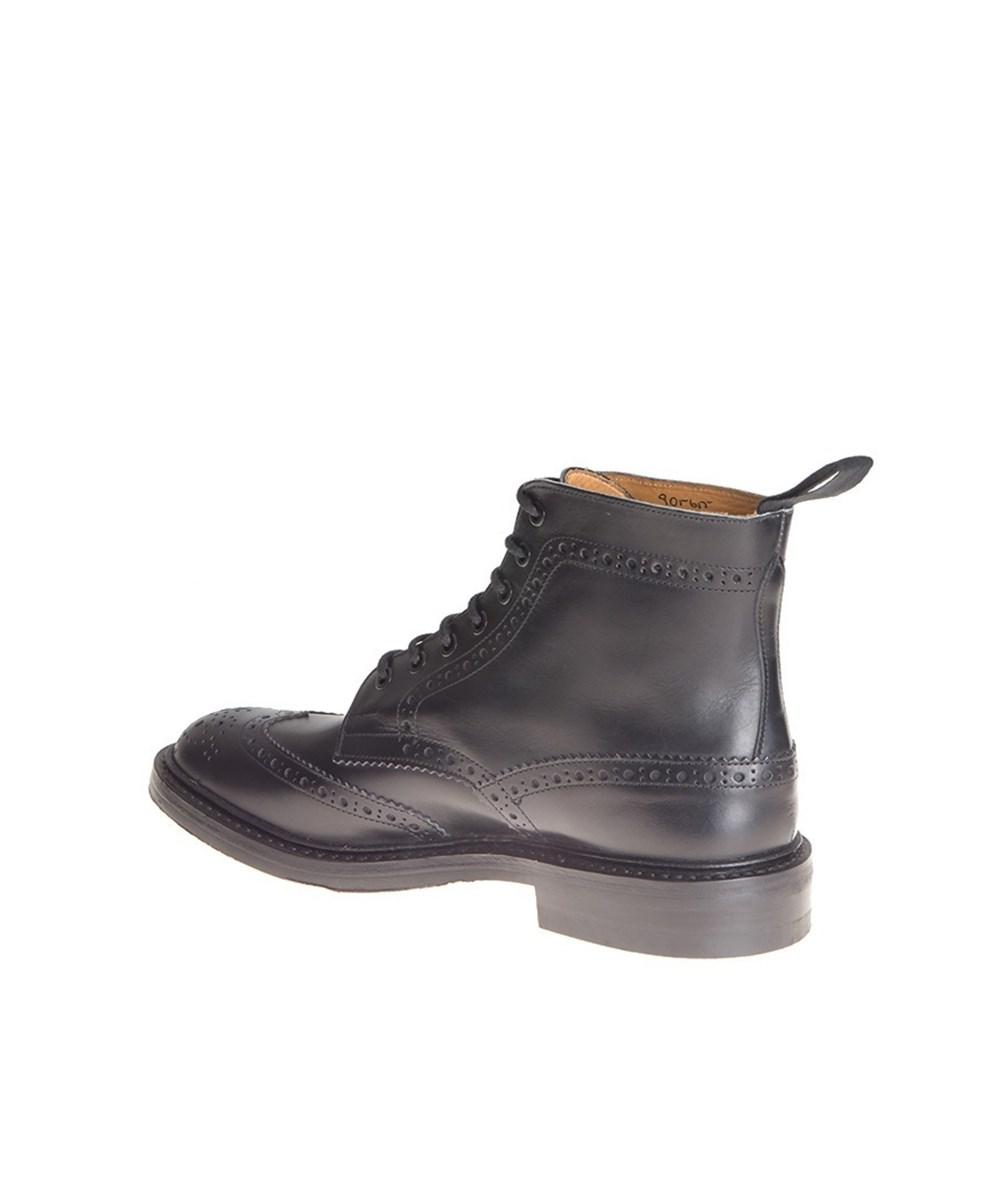 Tricker's Men's Black Leather A... outlet shop for cheap sale recommend free shipping cheap cheap sale best xdlGA
