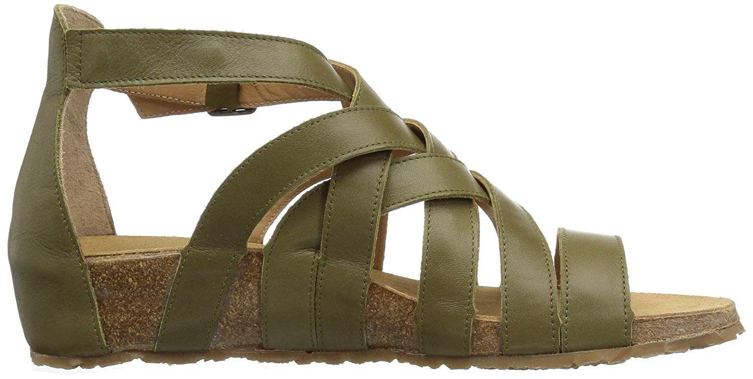 308a15db9f1 Lyst - Haflinger Womens Stella Open Toe Casual Ankle Strap Sandals ...