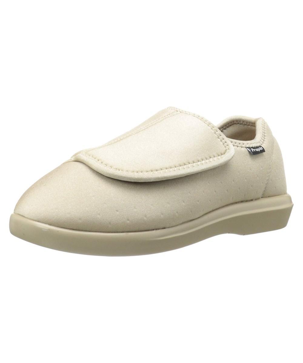 2f668191f99 Lyst - Propet Womens Cush N Foot Closed Toe Slip On Slippers in Brown