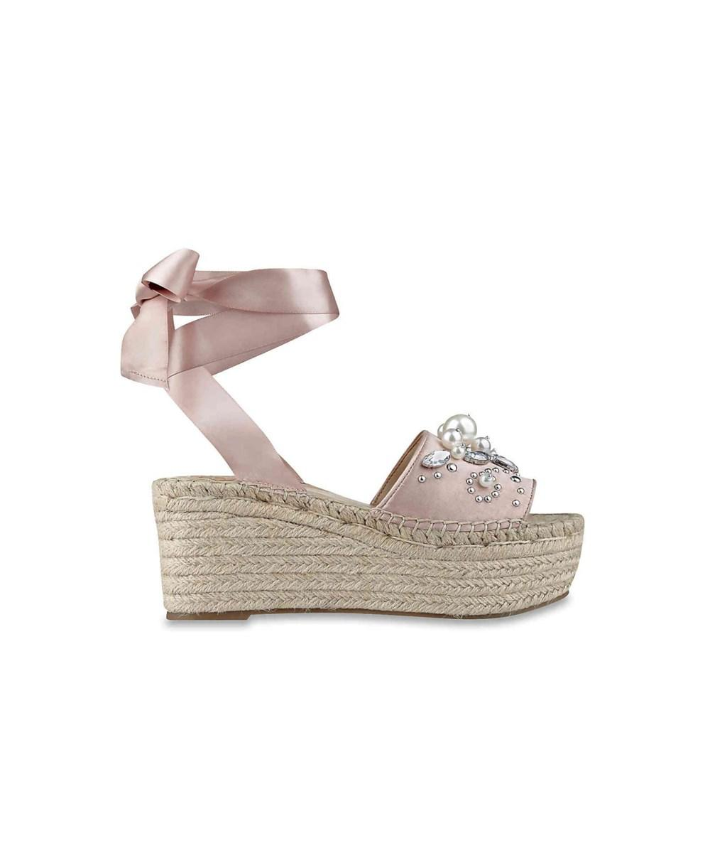 6dbeb2fe38d Lyst - G By Guess Womens Razzle Open Toe Casual Platform Sandals in Pink