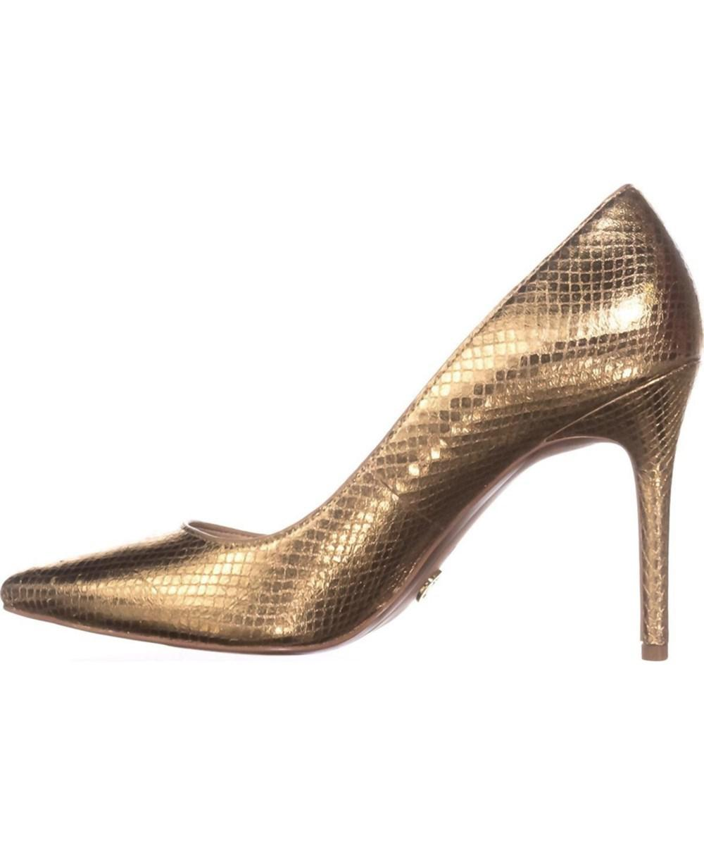 e569f034aafd Lyst - Michael Michael Kors Womens Claire Pump Leather Pointed Toe ...