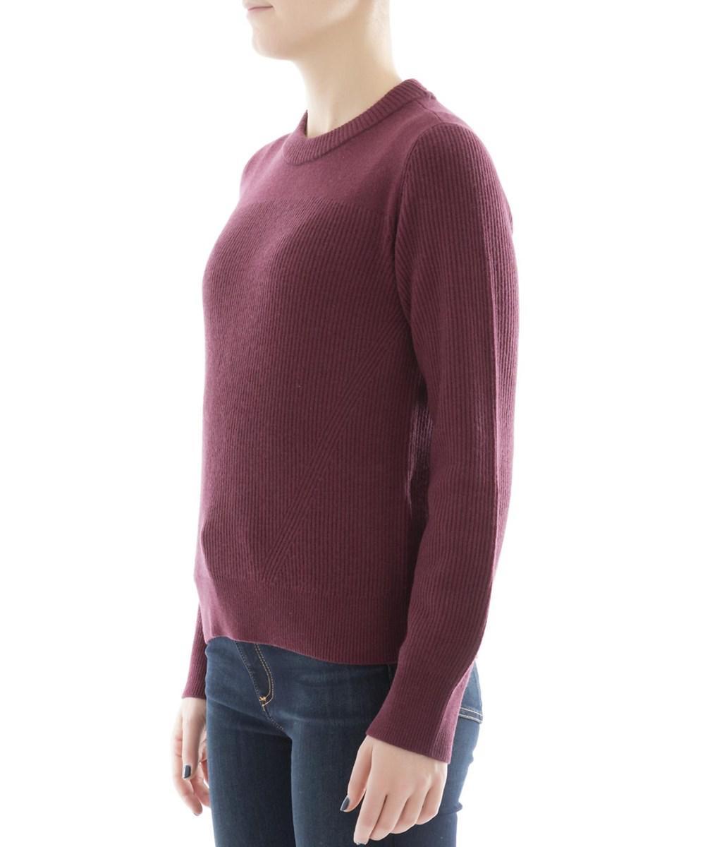 Rag & bone Women's Burgundy Cashmere Sweater in Red | Lyst